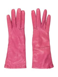 Long Leather Gloves w/ Tags