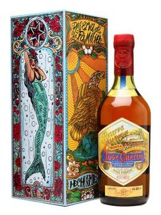 Tequila José Cuervo Reserva de la Familia - The box changes every year and the 2011 editions have been designed by Dr Lakra, aka Jeronimo López Ramírez, a Mexican artist and tattooist who has exhibited his work, both tattoo designs and altered found images, around the world.