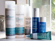 New Paula's Choice skincare products I'm trying out!