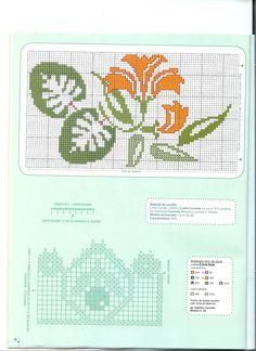 Picasa Web Albümleri Bargello, Knitting Charts, Art Nouveau, Crafty, Le Point, Towel, Embroidery, Album, Crochet