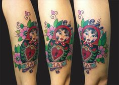 Matrioska tattoo