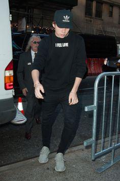 Celebrities Wearing Yeezy Boost Sneakers: Brooklyn Beckham