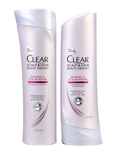 Best of Beauty 2015 Winner -- The best shampoo and conditioner for color-treated hair: Clear Scalp & Hair Beauty Therapy Damage & Color Repair Nourishing Shampoo and Conditioner   Allure.com