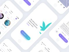 Booyah! Long time no seen :) Been busy working on a million things, including this awesome startup for Medical Marijuana shopping app. Tried to stick to clean, minimal style although product focuse...