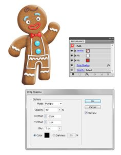 How To Create a Gingerbread Man in Adobe Illustrator
