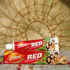 Ajurwedyjska ziołowa pasta do zębów Red - Dabur  Dabur Red for Teeth & Gums