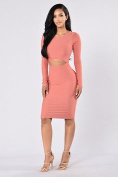 I Need Space Dress - Mauve