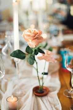 Elegant and minimalist garden inspired wedding hosted at Prospect House in Dripping Springs, Texas. Sunset Palette, Minimalist Garden, Dripping Springs, Bud Vases, Event Design, Wedding Details, Wedding Inspiration, Warm
