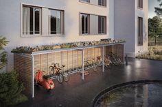 Mit einer Dachbegrünung schaffen Sie neuen Lebensraum für Pflanzen und Kleintiere und leisten damit einen wertvollen Beitrag zu einer grüneren Stadt.  Visualisierung Dachbegrünung Techflat (© Nightnurse Images, Zürich)