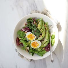 Becoming A Chef, Cooking Recipes, Healthy Recipes, Healthy Meals, Aesthetic Food, Avocado Toast, Green Beans, Salad Recipes, Food Photography