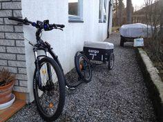 Vår kickbike / Huskybike