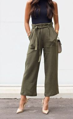 15 Jawdroppingly Cheap High Waisted Pants - Style Spacez