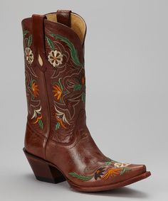 Another great find on #zulily! Cinnamon Khloe Cowboy Boot by Tony Lama #zulilyfinds