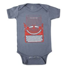 Look what I found at UncommonGoods: so my story begins babysuit... for $25 #uncommongoods