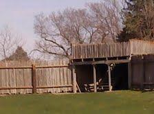 Fort Kearney Stockade Castle Floor Plan, Scenery, Floor Plans, Cabin, Flooring, American, House Styles, School, Building