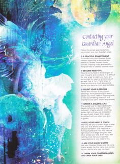 Contacting your Guardian Angel
