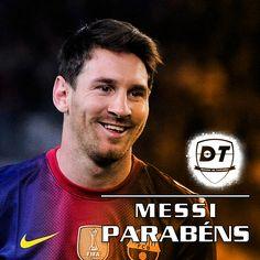 Hoje é o Aniversário de Lionel Messi!!! 🎉⚽🎉