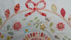 susan smith rowdy flat library quilt block 2 details