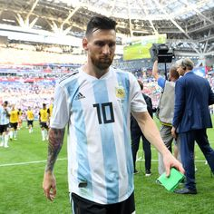 Messi reaction after Argentina ruled out from world cup 2018 9520b9ca6