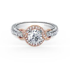 Mixed-Metal Engagement Rings : Brides.com
