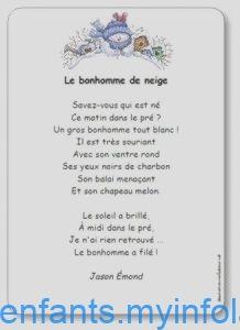 Poésie Le Bonhomme De Neige Corinne Albaut : poésie, bonhomme, neige, corinne, albaut, Poésie, Bonhomme, Neige, Jason, Emond, Illustrée, Imprimer, Neige,, Bonhomme,