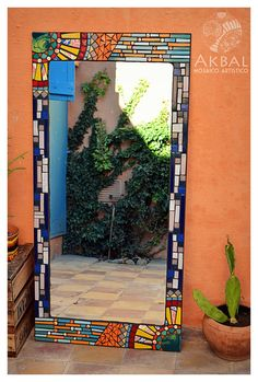 Oversized Mirror, Frames, Sweet Home, Decoration, Glass, Summer, House, Home Decor, Mosaic Artwork