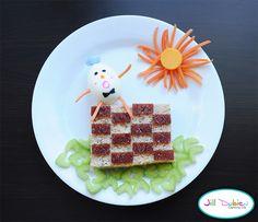 Kids food: humpy dumpty sandwich and more creative snacks