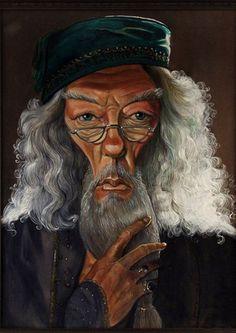 Professor Dumbledore by Robert Doucette.
