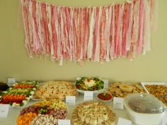4ft Shabby Chic Fabric Banner or Garland Shades by HelloCheesecake, $25.00