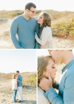 Beach Engagement Session Katie Lamb Photography