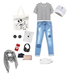 """""""Untitled #10"""" by idamariahaapanen on Polyvore featuring Bebe, adidas, Disney, Beats by Dr. Dre, Marc Jacobs, MICHAEL Michael Kors and Salvatore Ferragamo"""