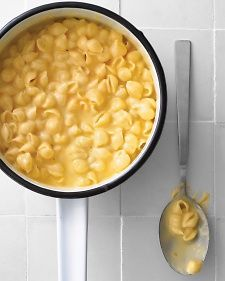 Stovetop Mac and Cheese.