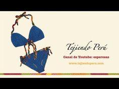 Bikini tejido a crochet - Tejiendo Perú