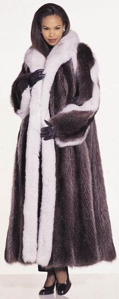 Fur pelts and coats of Mink Sable, Fox Chinchilla, Coyote, beaver, couger, fisher, badger, skunk, lynx, opossum, muskrat, raccoon, seal, otter, ermine, weasel and squirrel at wholesale prices to the trade world wide.