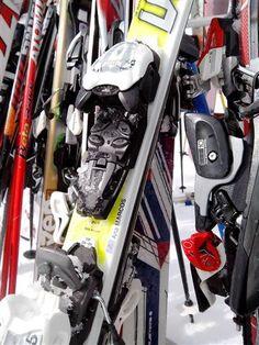 Estupendo el Sticker de Ana Marcos para los esquíes! Así son mucho mas fáciles de encontrar!