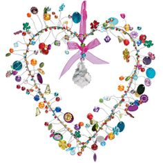 Deco, Accessories, Living at the Discovery Online Shop – Everyday things from all … - Diy & Craft Mix Trend Wire Crafts, Bead Crafts, Jewelry Crafts, Diy And Crafts, Arts And Crafts, Crystal Wind Chimes, Butterfly Mobile, Wire Art, Beads And Wire