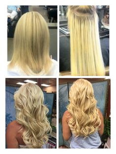 Single strands hair extensions