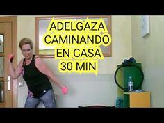 CARDIO🔥CAMINANDO EN CASA QUEMAGRASA,rutina sin impacto/30 minutos - YouTube Nachos, Zumba, Gin, Pilates, Aurora, Strong, Youtube, At Home Workouts, Workout Exercises
