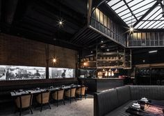 Sentimental Industrial Restaurants : mott 32 restaurant
