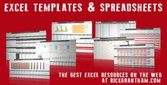 Best Excel Templates and Spreadsheets