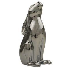 GoGoHares Chrome Figurine | Jarrold, Norwich