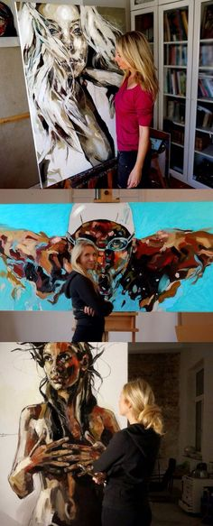Fantastic works by Anna Bocek