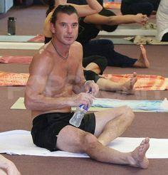 Gavin Rossdale Does Bikram Yoga