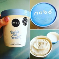 I've seen so much about @_nobo_ since its been out dunno why it's taken me so long to taste. Well what else would u eat on a day like today  So nice and wouldn't realise there's no dairy wonder what flavour I'll try next time  #Nobo #DairyFree #IceCream #Delish #FitFam #FoodPrep #LoveWhatIDo  #HealthyLiving #8020 #Healthy #DublinFoodie #IrishFoodie #StrongnotSkinny #Training #WeightTraining #GlutenFree #FoodPics #Fresh #FoodPhotography #Food #LovinDublin #ColourfulFood #GoodFoodKarma…