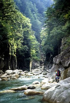Captured by the Kurobe - Exploring the big river of the Japan Northern Alps.