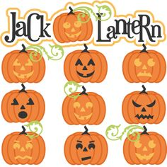 Jack-O-Lantern SVG cut file for scrapbooking pumpkin svg file free svgs cute svg cuts