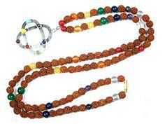 Prayer Mala Beads Yoga Healing Mala Rudraksha Seven Gemstone Pendant Meditation Japamala Mogul Interior http://www.amazon.com/dp/B00R2DHCC2/ref=cm_sw_r_pi_dp_mu4Wub0K0XNYB