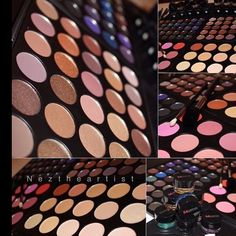 All Morphe palettes are back in stock!!  Get them all at Sleekhair.com!. neztheartist