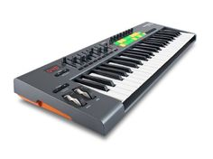 Novation Launchkey 49, 49-key USB/iOS MIDI Keyboard Controller with Synth-weighted Keys Novation http://www.amazon.com/dp/B00B9QONQQ/ref=cm_sw_r_pi_dp_Z925tb1303GMG