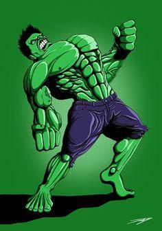 #Hulk #Fan #Art. (The Incredible Hulk) By:Jak-Draws. (I WANNA ROCK!!) ÅWESOMENESS!!!™ ÅÅÅ+